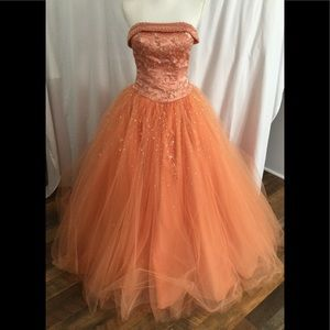 MORI LEE Coral  formal